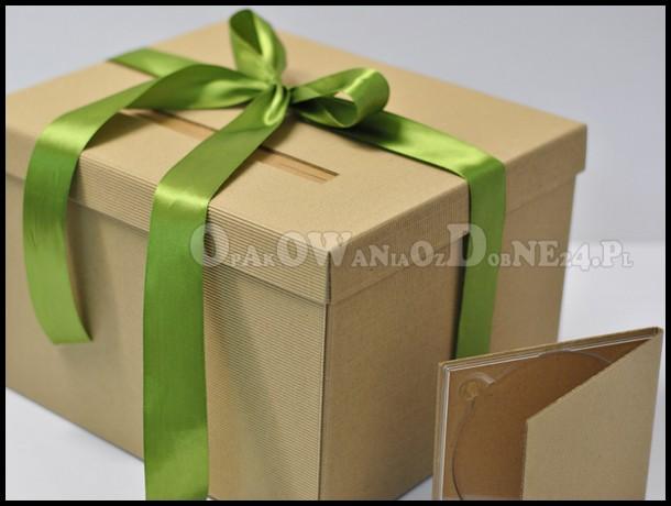 pudełko na koperty, pudełka na koperty, pudełko eko